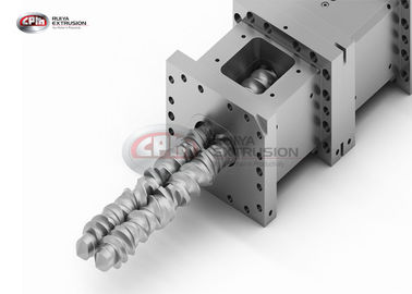 China Configuration Connection Extruder Machine Parts Screw Shaft Located Inside Barrel supplier