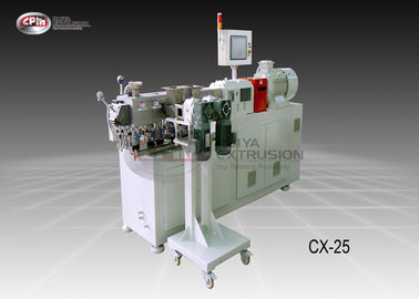 China High Torque Lab Scale Twin Screw Extruder / Engineering Plastic Laboratory Scale Extruder supplier