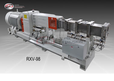Animal Food Twin Screw Extrusion Machine With 98mm Diameter Good Performance