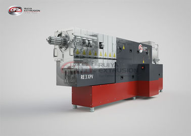High Dispersion PET Plastic Recycling Machine , Low Shear Recycling Extruder Machine