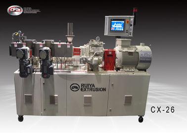 CPM Ruiya Extrusion Filling Lab Twin Screw Extruder Plastic Blending Modification