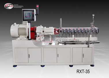 China Laboratory Polymer Extrusion Machine For Reinforcing / Filling Process factory