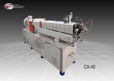 China Eco - Friendly Polymer Extrusion Machine For Masterbatches 40mm Diameter factory