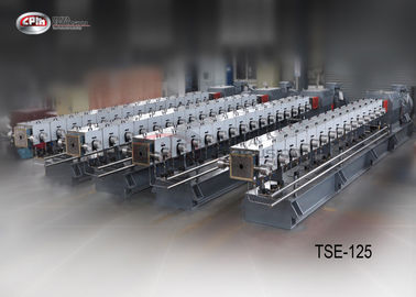 Engineering Plastics Polymer Extrusion Machine 125mm Screw Diameter TSE125